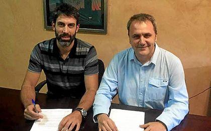Imagen del director deportivo verdiblanco.