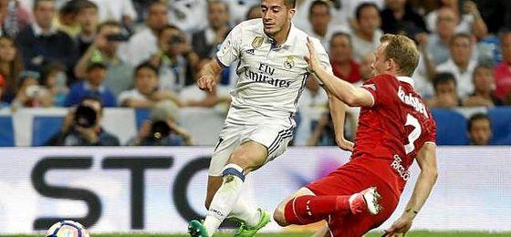 Krohn-Dehli, la sorpresa inesperada en el Bernabéu.