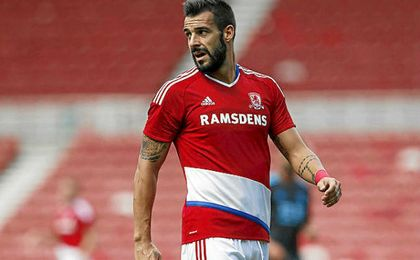 Negredo ha marcado nueve goles para un Middlesbrough que está descendido.
