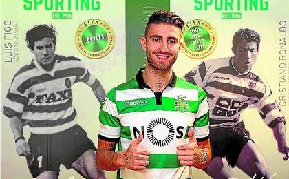 """Piccini: """"El Sporting es el club más grande de Portugal"""""""