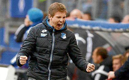 Nagelsmann, su entrenador, es el gran protagonista del Hoffenheim.