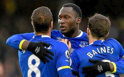 Lukaku es la gran estrella del Everton de Koeman.