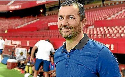 Diego Martínez, candidato al banquillo de Osasuna.