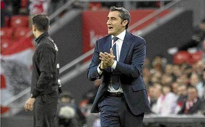 Valverde se despide del Athletic