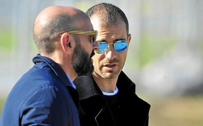 Tras retirarse, Maresca pasó unos días en Sevilla.