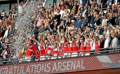 El Arsenal logra su decimotercera FA Cup y frustra el doblete del Chelsea.