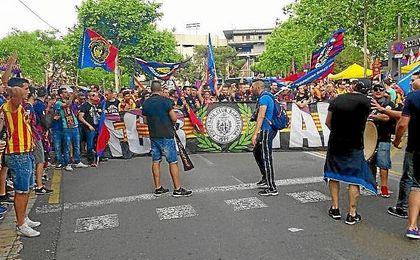 Cinco ´Boixos Nois´, detenidos por asaltar un comercio cerca del Calderón.