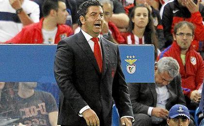 Rui Vitória, en el Calderón.