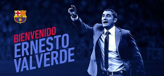 Valverde reemplaza a Luis Enrique.