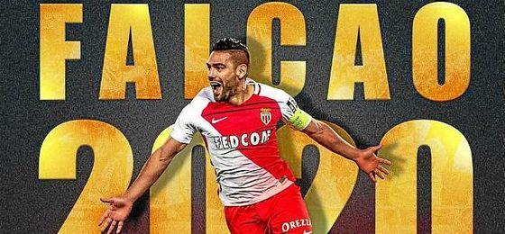 Así ha anunciado el Mónaco la renovación de Falcao.