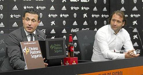 Rufete, a la derecha, opción para dirección deportiva del Betis.