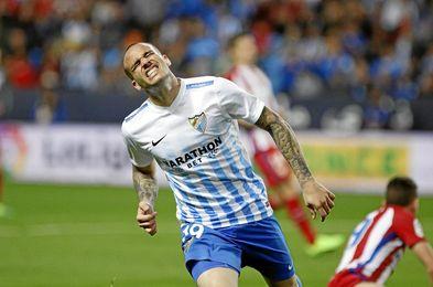 Sandro jugará cedido en el Málaga hasta enero.