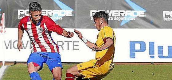 El partido de la Youth League fue para el Atlético.