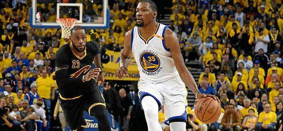 132-113. Curry y Durant repitieron dominio ante James y Cavaliers para el 2-0