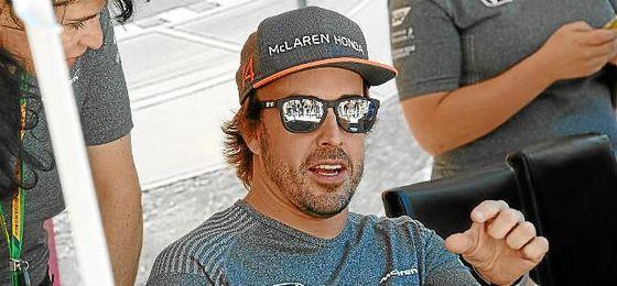 Brown espera que Alonso continúe en McLaren la próxima temporada.