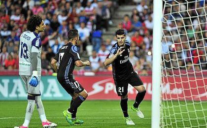 Morata ha estado a la sobra de Benzema.
