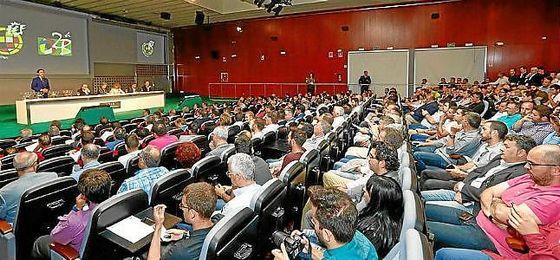 Imagen del sorteo de la Fase de Ascenso en la sede de la RFEF.