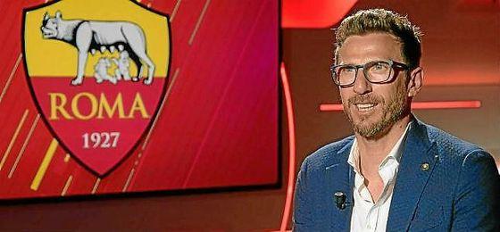 Di Francesco, nuevo entrenador de la Roma.