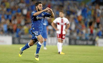 El bético Pacheco firmó el 2-0.