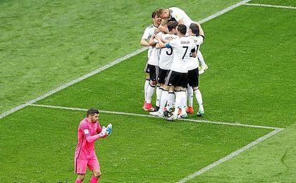 Alemania hizo un gran fútbol.