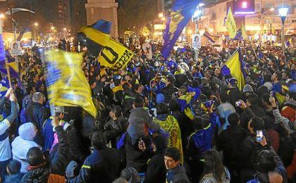 Boca festeja su título número 32 en Argentina