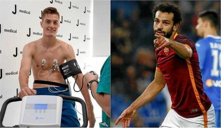 La Juventus ha fichado a Schick, mientras que la Roma venderá a Salah.
