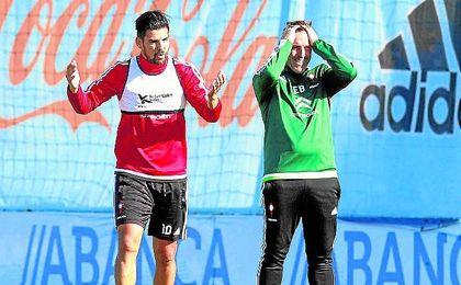Berizzo entiende que Nolito y su fútbol son necesarios en el nuevo proyecto blanquirrojo.