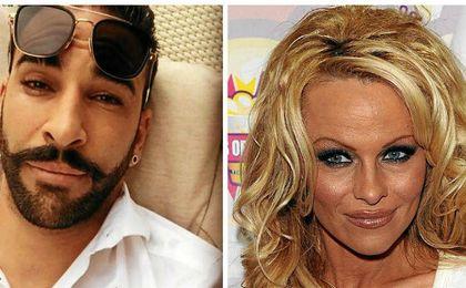 Pamela Anderson, amor de verano de Adil Rami