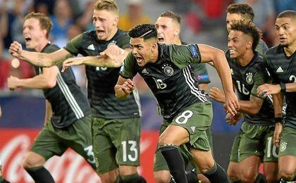 Alemania se impuso en los penaltis.