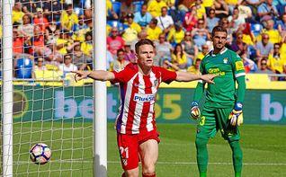 Gameiro no empezará la Liga con el Atlético
