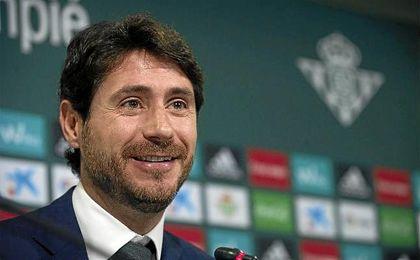 Victor, ex-entrenador del Real Betis