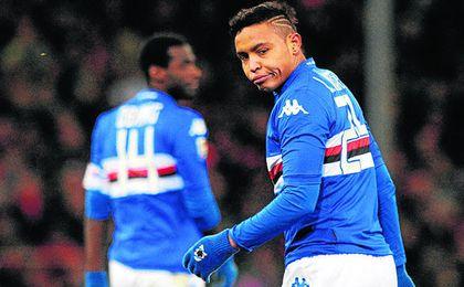 La Sampdoria no va a dejar salir a su delantero a cualquier precio.