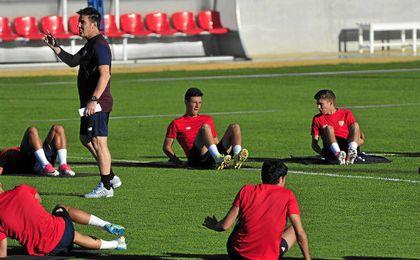 Ganso y Mariano se incorporan a los entrenamientos