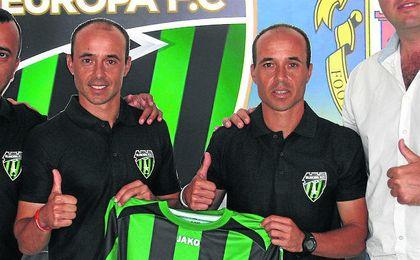 Dimas y David Carrasco llevaron a Europa al Europa gibraltareño.