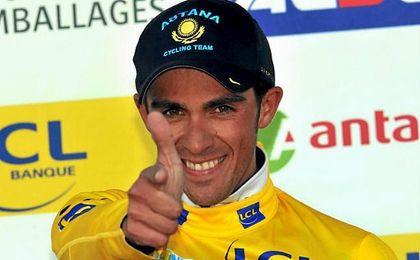 Contador, bicampeón del Tour de Francia.
