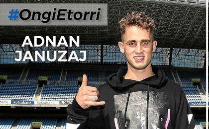 La Real ficha a Januzaj del Manchester para las próximas cinco temporadas