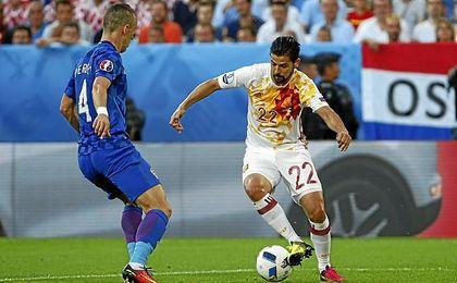 Nolito quiere regresar a la selección de la mano del Sevilla.