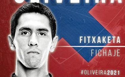 El fichaje de Paulo Oliveira por el Eibar es oficial.