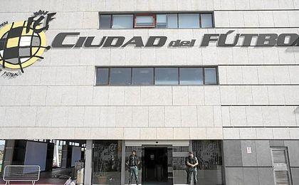 La Ciudad del Fútbol de Las Rozas.