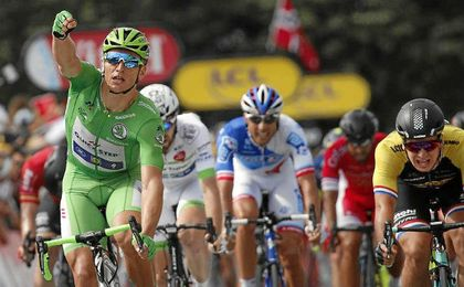 Kittel abandona tras ganar 5 etapas y con el maillot verde