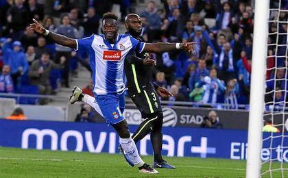 Caicedo podría tener los días contados en el Espanyol.
