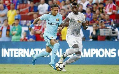Mientras los rumores sobre su marcha al PSG se disparan, Neymar se dedica a marcar goles con la blaugrana.