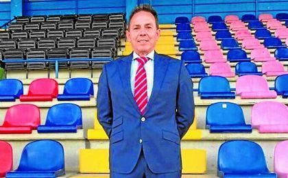Manuel Muñoz, en el Miguel Román, tomó posesión de su cargo el pasado mes de mayo.
