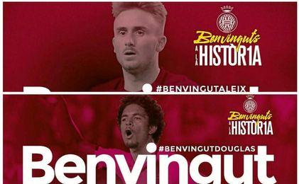 El equipo catalán da la bienvenida a sus dos últimas incorporaciones.