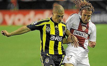 Imagen del Sevilla-Fenerbahçe de 2008.