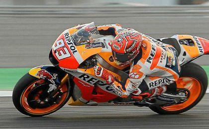 Márquez suma su cuarta pole de la temporada