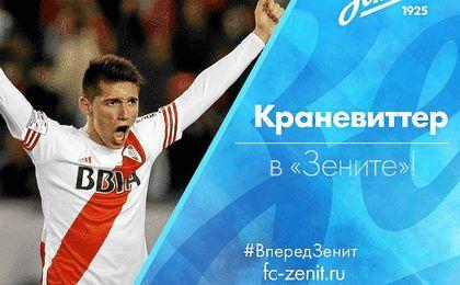 El ex del Sevilla Kranevitter ficha por el Zenit ruso