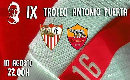 Imagen promocional del IX Trofeo Antonio Puerta.