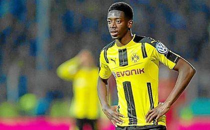 El Dortmund también ha decidido multar económicamente a Dembélé.