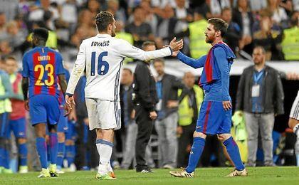 Kovacic y Messi, titulares en sus respectivos equipos.